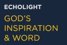 God's Inspiration & Word by EchoLight Studios / EchoLight Studios brings you a community pinning quotes, scripture, and bible verses collected and inspired by different walks of life. Our hope is to share the message of Christ through inspiring and entertaining movies. Make sure to check out our other boards! / by EchoLight Studios