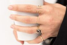 stack 'em high / silver, gold & jewels / by Charlotte Ingram