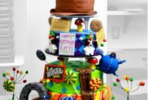 Designer Cakes / Ideals for designs, tips for decorating, and recipes.  / by Fregina Jones