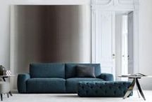 BERTO MODERN SOFAS / Modern sofas made in Italy by BertO fine upholstery tailoring.