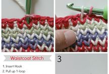 Crochet Techniques / Crochet techniques, tutorials, styling  and more to expand or simplify your crocheting. If you would to join, send an email to creationsbycourtneyw@gmail.com. Please do not add others to this board.
