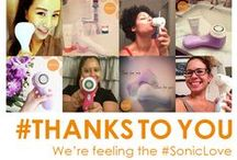 #ThanksToYou, it's our 10th Anniversary! / To mark our 10th anniversary, we're thanking our fans for everything they've done to spread #SonicLove all over the world. / by Clarisonic