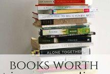 Books Worth Reading / by Amanda Sargeant