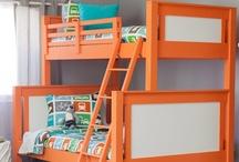Shared Kids Rooms / Inspiring Shared Kids Rooms | Shared Boy and Girl Rooms | Shared Kids Room Layout | Shared Kids Room Ideas