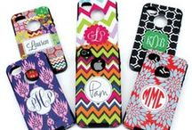 Monogrammed Cell Phone Cases and Ottorboxes! / So you love your cell phone. Protect it with a Monogrammed Case. Let us help you design a personalized cell phone case.