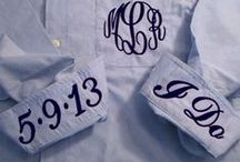 Creative ideas / Just come neat ideas we have that may include a monogram.