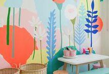 Inspiring Wall Treatments / Wall Treatments | Wall Treatment Ideas | DIY Wall Treatments | Wall Treatments for Kids Rooms | Wall Treatments for Bedrooms
