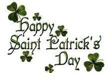 St. Paddy's Day! / All things Irish.
