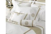 Bedroom Designs / Need us to help you decorate your bedroom with monograms. We have beautiful linens. Send us something to personalize since we do all the embroidery here in Greenville SC.
