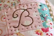 """B"" / by Barbara Tharp"