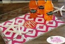 Let's Have a Party / Having a party? Let us help you design it with monograms. Here are some great ideas we have to make that party special.