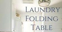 HOME- Laundry / Laundry Room Inspo & Laundry Tips!