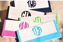 Clutches for Spring / We all love a clutch purse. We love it even more if it is monogrammed. We have so many new styles to choose form.
