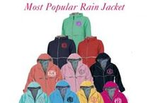 Rainy Day Stuff / Rainy days do not have to be so bad. Perfect lift me up is something monogrammed. Famous for our Monogrammed Rain jackets and boots.
