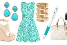 Turquoise Acroball Look Book