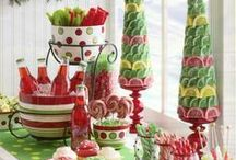 Holiday Foods & Beverages / Christmas feasting, sweet treats and gifts.