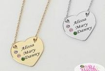 Family Jewelry / A perfect palce to find jewelry that you can add the kids names on. Perfect place to buy or look for a gift for Mom.