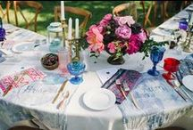 Tablescapes / Wedding Tablescapes