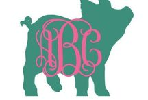 MAKE- Monograms / If it stands still, put a monogram on it!
