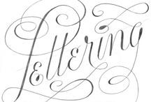 lettering / by Megan Hillman