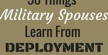 For Military Spouses / Military Spouses support those that protect us.  The level of dedication, strength, and loyalty cannot be stressed enough.  This board is a resource for our Military Spouses to connect and find advice during all stages of Military Life.