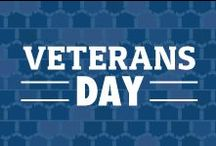 "Veterans Day / ""This nation will remain the land of the free only so long as it is the home of the brave."" -Elmer Davis / by Veterans United"