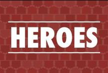 "Heroes / ""A hero is an ordinary individual who finds the strength to persevere and endure in spite of overwhelming obstacles.""- Christopher Reeves / by Veterans United"