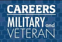 Careers and Education for Military and Veterans / Resources, interview tips, and other information to help our Military Service Members and Veterans find employment. Also find information on scholarships, schools, and benefits for Veterans and Military service members who are looking to start or further their education. / by Veterans United
