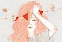 illustrations / by andrea cruz