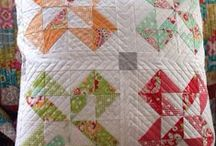 Quilted Pillows and Quilt Blocks / by Rhonda Byrd