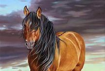 Animal Art *~* EQUINE / by Colleen Mulrooney