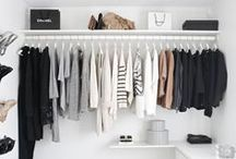 My Soon to be Closet - Ideas! / All sorts of ideas and inspiration for my future walk in closet!