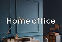 Home Office Ideas | made.com / What's the formula for the perfect home office? Take one designer desk and a comfy yet stylish chair, then add a table lamp and accessories; pinboards, picture walls, candles, stationary. Make working from home a haven of creativity.