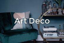 Art Deco Interiors | made.com / Bring Art Deco style into your home.