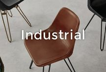 Industrial Interior Trend | made.com / With the industrial look making a resurgence, it's easy to see why people are going crazy for concrete. This tough-luxe style really accentuates urban settings and neutral colour schemes.