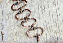 Crafted bracelets / Bracelet DIY - beads, leather, embroidery and more