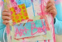 """""""Art Journal et Mixed Média""""pour les Enfants"""
