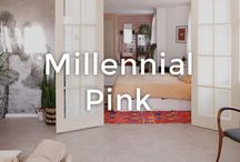Millennial Pink Interiors | made.com / Add a feminine touch to your interiors. From subtle blush tones to bright neon colour pops - it's time to think pink.
