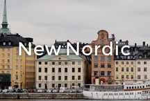 New Nordic | made.com / The 'New Nordic' look. It's kind of a thing this year, and it's a subtle move on from mid-century Scandi. Typical traits: pale woods, pastel hues, curved silhouettes and comfort in abundance.