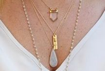 Jewelry: Necklaces / Necklaces of every length and style! Add a necklace to any outfit to take it to the next level! Make a statement by wearing a necklace!