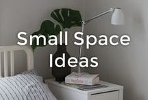 Small Space Living Ideas   made.com / Live large in your petite quarters. Small spaces are cosy, they encourage you to live a clutter-free life, and with just a few clever décor tricks, they can be just as functional (maybe even more) as large mansions. Whether you live in a studio or have a small bedroom, keep scrolling for our favourite small-space, high-style furniture and urban dwelling inspiration.