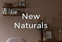 New Naturals   made.com / This season, we're coming down to earth. Interior and wall colour schemes are getting muddier, softer, and more matt. Muted blush replaces glossy pink. Hazy greens take over from leafy hues. And sandy greys are the perfect neutral. These tones bring depth and a rustic feel to your home - without veering into twee country style. The result? A space that feels calm, serene and warm. Here are our favourite examples of the New Natural trend in action - and tips to work the look.