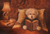 Canine Kingdom / Some inspiration from our Canine Companions (and of course their squirrel friends too)