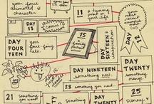 lesson ideas: sketchbook activities
