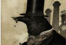 Vintage Halloween / by Lisa Zador Illustration