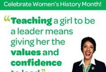 Women's History Month / Celebrating Women's History Month / by Girl Scouts