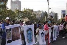 Marcha #JornadaMundialPorAyotzinapa 5 de noviembre / Megamarcha realizada de Los Pinos al Zócalo para exigir la presentación con vida de los 43 normalistas desaparecidos en Ayotzinapa. Fotos: Paulo Ávila