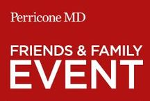 Friends and Family Sales Event: Fall 2014 / Save 20% on purchases during the #PerriconeMD.com Semi-Annual Friends & Family Event, happening now through November 19! Shop online for your favorite items and enter code Fall2014 at checkout. #FriendsWithPerricone / by Perricone MD