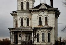 Victorian Dream Homes / These are places that I dream of inhabiting; magical, spooky or quaint. The more gingerbread and possible secret passages the better!