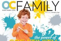 OCF // April issue of OC Family / OC Family magazine's April issue